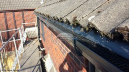 UPVC colour coated fascia soffit square guttering gutter guard