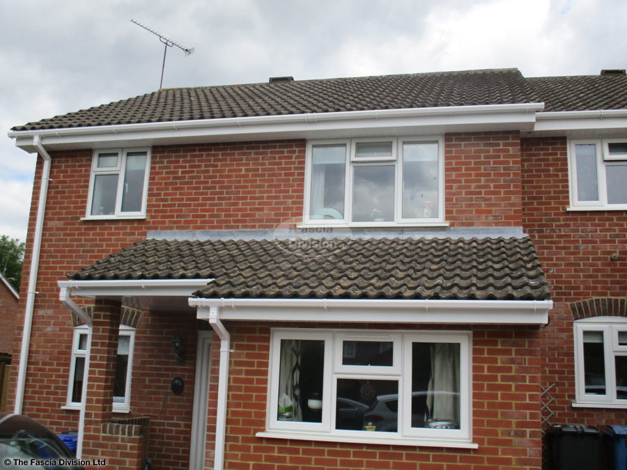 Fascia, soffit and guttering full replacement in hook