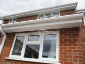 Soffit, fascia with square guttering full replacement in Hook