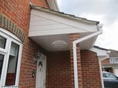 UPVC cladding and guttering replacement in Hook