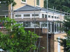 Equinox roof tiles on a conservatory in Woking