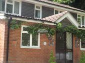 White fascia white soffit replacement Wintney, Hook