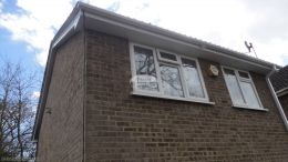 Basingstoke full replacement fascia guttering soffits downpipe squareline guttering system
