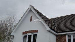 half round gutter system contractor Basingstoke rooftrim specialist installers soffit guttering fascia