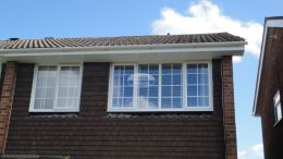 soffits fascias replacement upvc Basingstoke home improvements guttering white