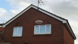 Installation of new white fascias soffits guttering Thatcham Newbury rooftrim