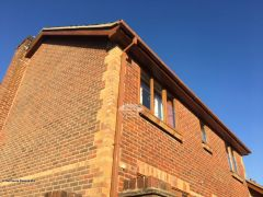 Installation Of New Upvc Fascias Soffits And Guttering On A Detached Property in North Waltham Basingstoke