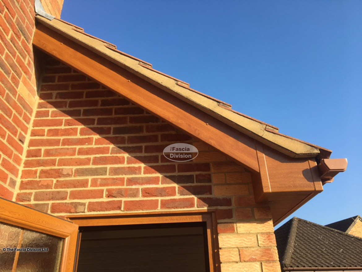 Replacing Fascias Soffits Guttering On Deatached Property Basingstoke