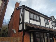 mock tudor replacement