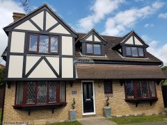 UPVC mock tudor beams