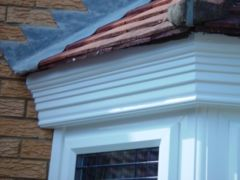 build-up details of decorative fascias