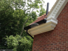 decorative fascias and soffits black ogee guttering