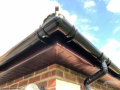Rosewood UPVC fascia and soffit South Warnborough