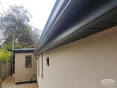 Anthracite seamless guttering, fascias and soffits picture 5