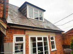 new UPVC fascias, soffits and guttering - older property