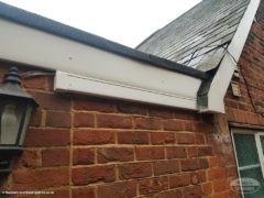 UPVC fascias and soffits on character property